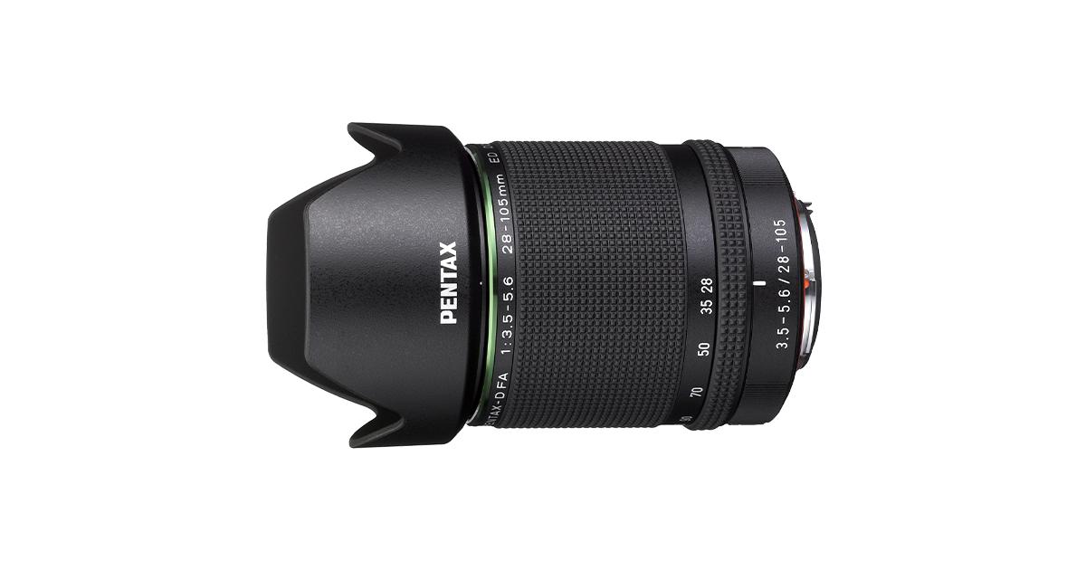 Black Pentax D FA 28-105mm F3.5-5.6ED DC WR HD Lens