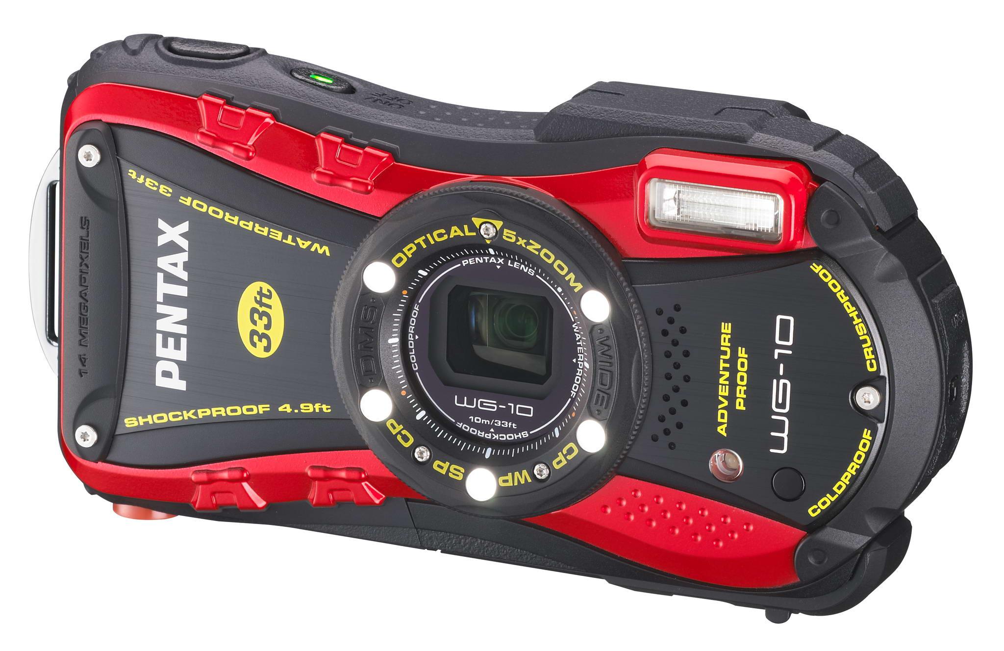 PENTAX WG-10 Standard-class waterproof digital compact ...