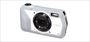 Navitech Lightweight Aluminium Tripod Compatible with The RICOH G900SE Digital Camera
