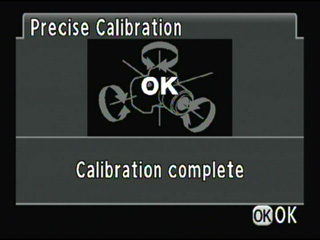 High-precision calibration : Completed