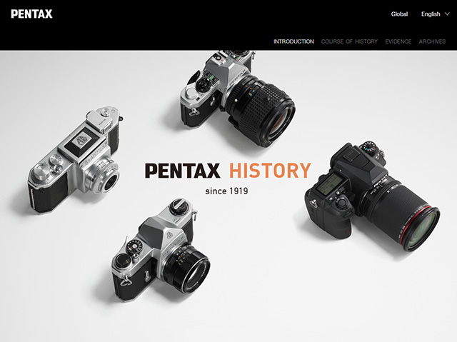 PENTAX STORY / APP / DOWNLOAD / SUPPORT | RICOH IMAGING
