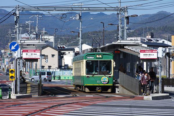 京都の街に嵐電 - 嵐電開業100周...